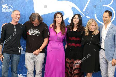 Stock Picture of Alex Garcia, Emir Kusturica, Sloboda Micalovic and Monica Bellucci, Paula Vaccaro and Lucas Akoskin