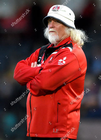 Stock Image of Gloucester Rugby head coach Laurie Fisher
