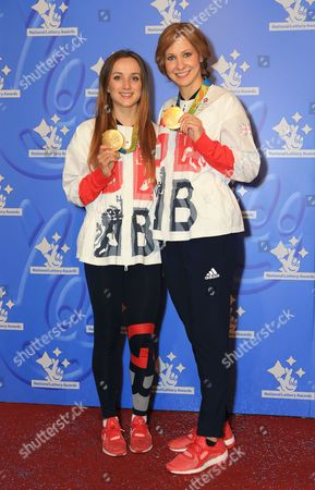 Elinor Barker and Joanna Rowsell