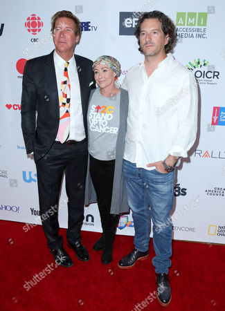 Shannen Doherty and Kurt Iswarienko and guest