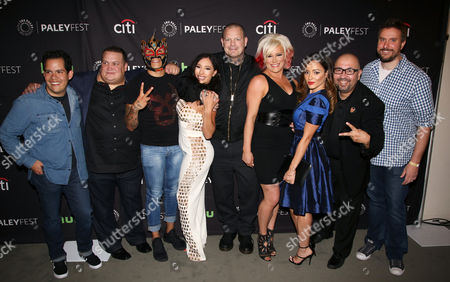 Editorial photo of 'Lucha Underground' TV Series Screening, Arrivals, PaleyFest, Los Angeles, USA - 09 Sep 2016