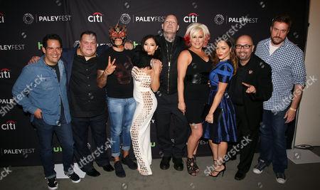 Editorial photo of 'Lucha Underground' TV Series Screening, Arrivals, PaleyFest, Los Angeles, USA - 09 Sep 2016