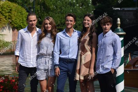 Saul Nanni, Beatrice Vendramin, Leonardo Cecchi, Eleonora Gaggero, Federico Russo