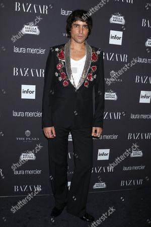 Editorial photo of Harper's Bazaar Celebrates ICONS party, New York Fashion Week, USA - 09 Sep 2016