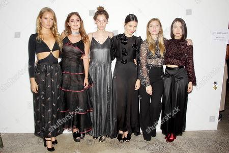 Sailor Brinkley-Cook, Sophie Curtis, Cory Kennedy, Julia Goldani Telles, Kelsey Byrne, Mitski
