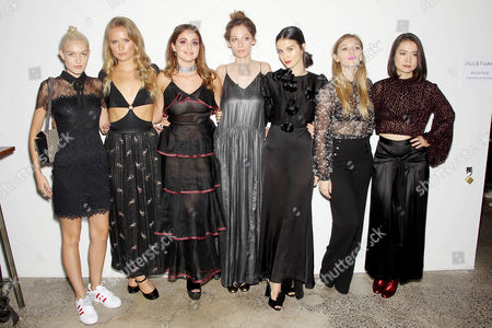 Charlotta Kohl, Sailor Brinkley-Cook, Sophie Curtis, Cory Kennedy, Julia Goldani Telles, Kelsey Byrne, Mitski