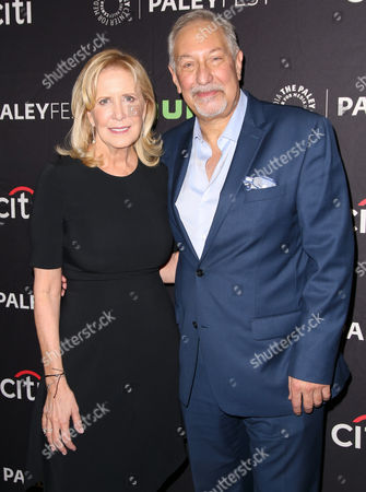 Stock Image of Wendy Walker and Mark Geragos