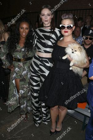 June Ambrose, Coco Rocha and Kelly Osbourne