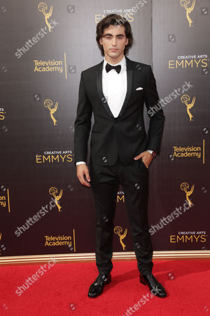 Editorial image of Creative Arts Emmy's Awards, Arrivals, Los Angeles, USA - 10 Sep 2016
