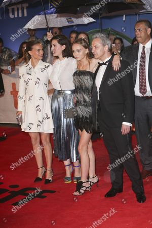 Natalie Portman, Rebecca Zlotowski, Lily-Rose Melody Depp and Emmanuel Salinger