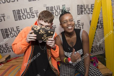 Stock Picture of Reeps One and Toya Delazy