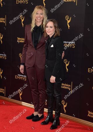 Ellen Page and Samantha Thomas