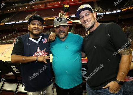 J Cruz, Luis Guzman and Jeff G.