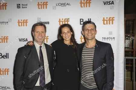 (L-R) Mickey Liddell, Jennifer Monroe and Pete Shilaimon