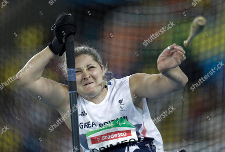 Kylie Grimes Kylie Grimes from Britain competes in the women's club throw F51 final event at the Paralympic Games in Rio de Janeiro, Brazil