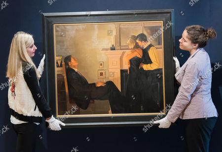 Jack Vettriano.  Beautiful Losers. Est: £150,000-200,000