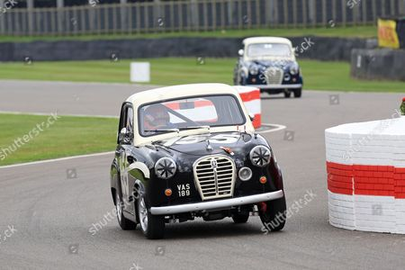 Tiff Needell in Austin A35 - St Mary's Trophy