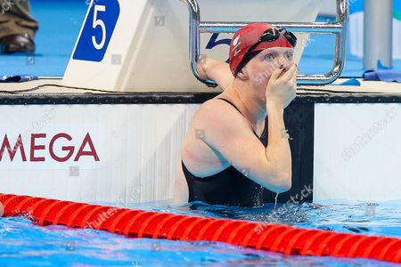 Susannah Rodgers of Great Britain wins Gold in the Women's 50m Butterfly S7 Final.