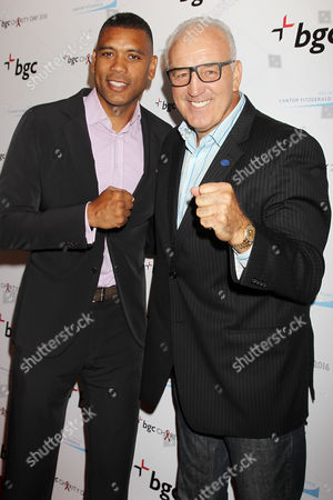 Allan Houston and Gerry Cooney