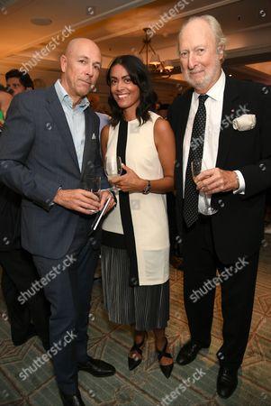 Dylan Jones, Zia Zareem Slade and Ed Victor