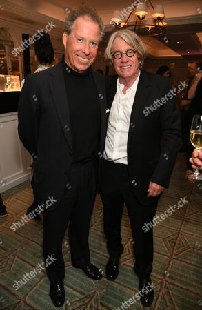 Viscount David Linley and Frank Cohen