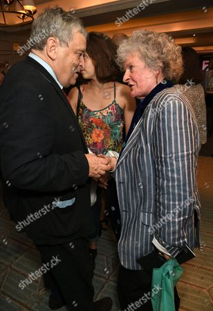 Maggi Hambling and Sir Norman Rosenthal