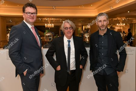 Ewan Venters, Frank Cohen and Charming Baker