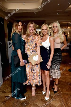 Alexandra Meyers, Georgina Cohen, Kathrine Fredriksen and Cecilie Fredriksen