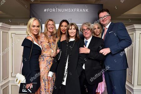 Cecilie Fredriksen, Georgina Chapman, Alexandra Meyers, Cheryl Cohen, Frank Cohen, Kathrine Fredriksen and Ewan Venters