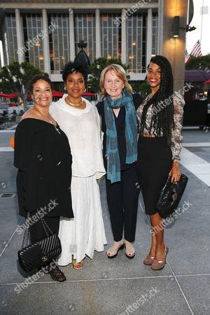Debbie Allen, Phylicia Rashad, Kate Burton and dancer Vivian Nixon