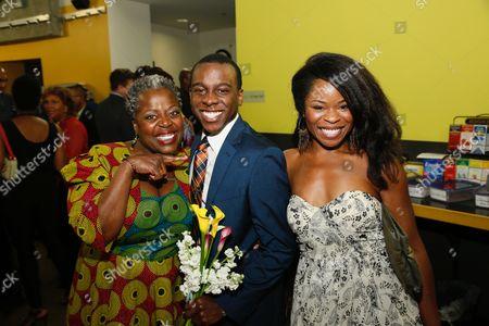 Lillias White, Lamar Richardson, Nija Okoro