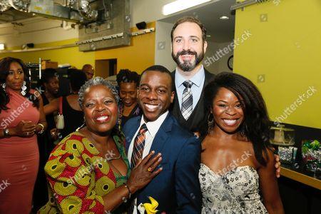 Lillias White, Lamar Richardson, Ed Swidey and Nija Okoro