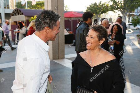 Dominic Hoffman and Debbie Allen