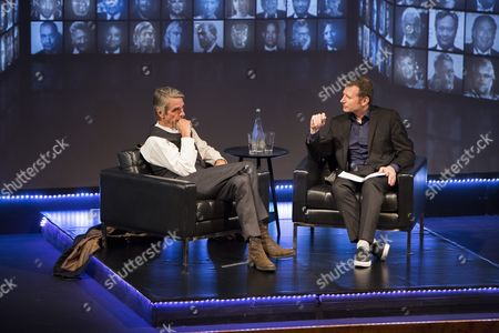 Stock Picture of Jeremy Irons, Danny Leigh