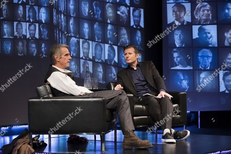 Stock Image of Jeremy Irons, Danny Leigh