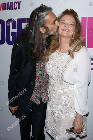 Stock Photo of Sharon Maguire (R) and husband Anand Tucker
