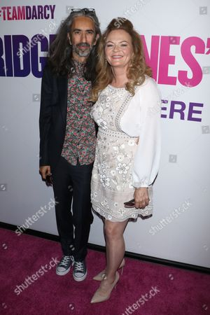 Sharon Maguire (R) and husband Anand Tucker