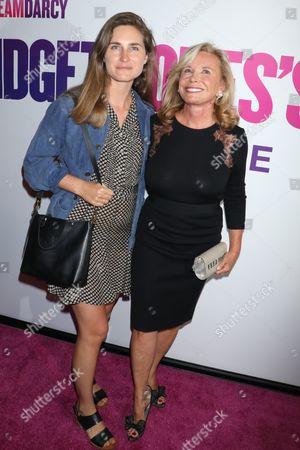 Stock Picture of Lauren Bush and Sharon Bush