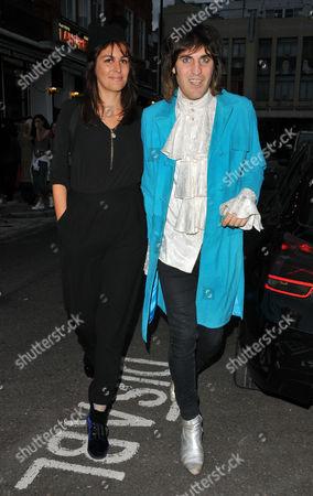 Lliana Bird and Noel Fielding