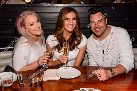Lacey Schwimmer, Heather McDonald and Frankie Moreno