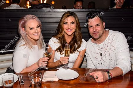 Stock Image of Lacey Schwimmer, Heather McDonald and Frankie Moreno