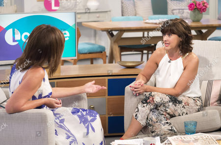 Lorraine Kelly and Angela Lonsdale