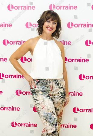 Editorial photo of 'Lorraine' TV show, London, UK - 13 Sep 2016
