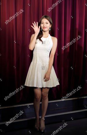 Editorial photo of Bae Su-ji wax figure at Madame Tussauds, Hong Kong, China - 13 Sep 2016