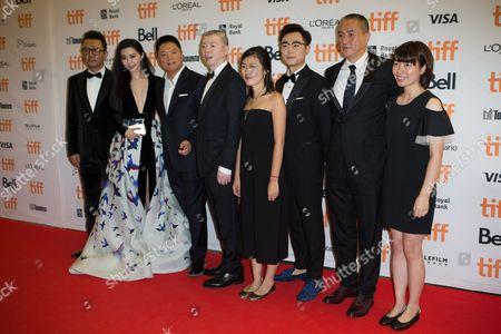 Stock Image of Feng Xiaogang, Fan Bingbing, Tao Guo, Dong Chengpeng