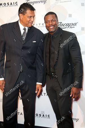 Reggie Theus & Chris Tucker