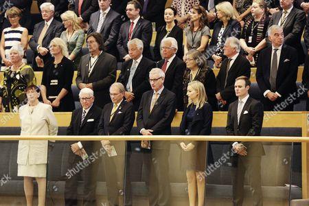 Birgitta Dahl, Thage G. Peterson, Per Westerberg, Carl Bildt, Ebba Busch Thor, Niklas Busch Thor