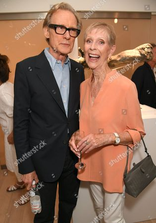 Stock Picture of Bill Nighy and Paulene Stone