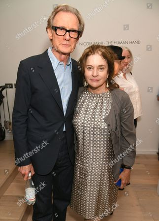 Bill Nighy and Diana Quick