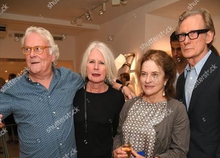 Betty Jackson, Bill Nighy and Diana Quick
